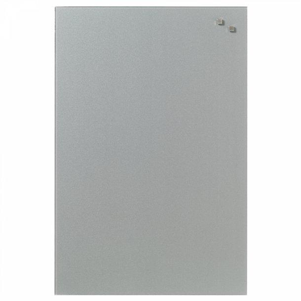 Topmoderne Glastavle 40 x 60 cm. Sølv - Magnetiske glastavler 40 x 60 cm ZX-44